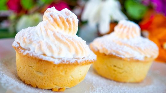 Passion Fruit Meringue Tarts