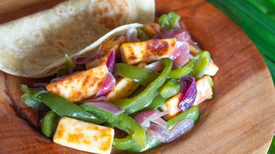 Stir-fry Paneer with Vegetables